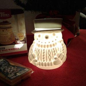 Better Homes & Gardens Holiday - 🌺 NIB Better Homes & Gardens Snowman Wax Warmer